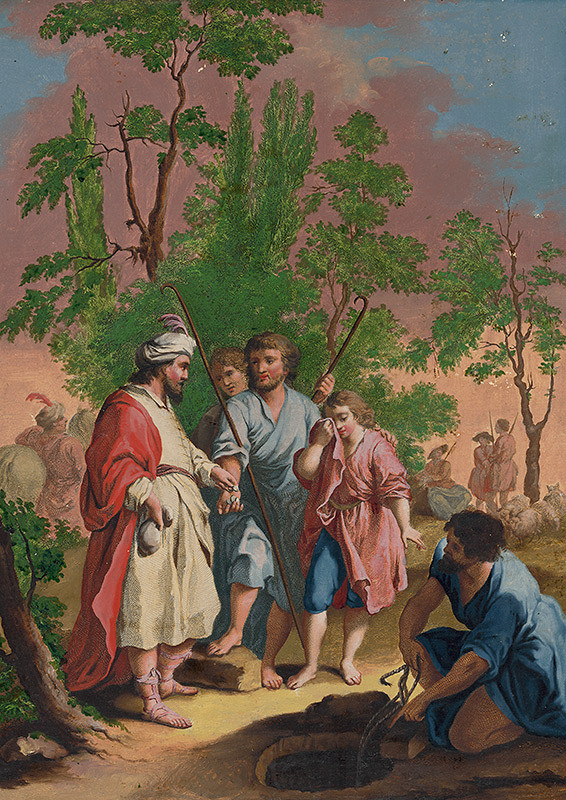 Giuseppe Zocchi, Francesco Bartolozzi, Joseph Wagner - Bratia predávajú Jozefa do otroctva egyptským kupcom