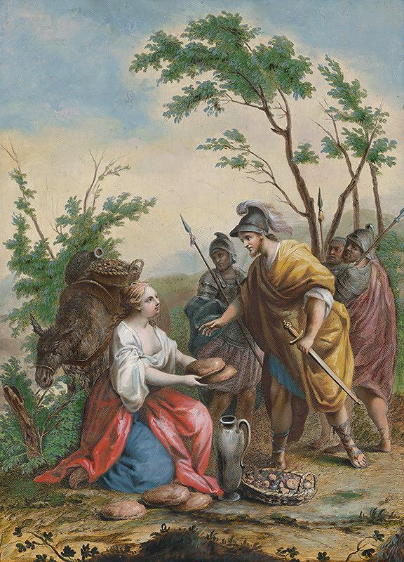 Jacopo Amigoni – Dávid a Abigail