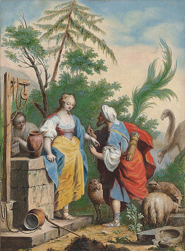 Jacopo Amigoni – Rebeka pri studni