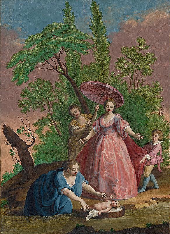 Jacopo Amigoni - Nájdenie Mojžiša