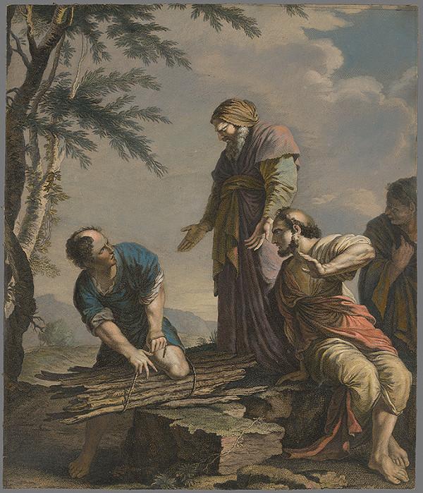 Stredoeurópsky maliar z 18. storočia - Biblický motív