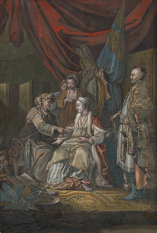 René Gaillard, Jean-Baptiste Le Prince – Ruská veštica