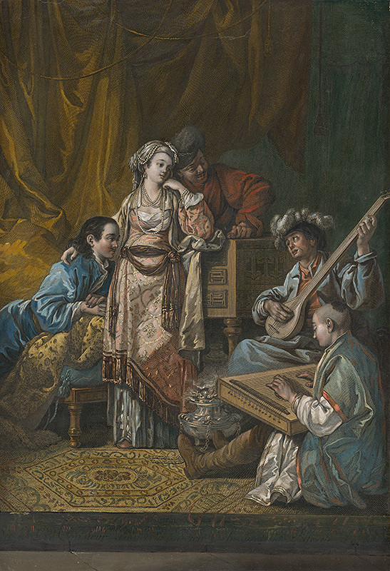 Jean-Baptiste Le Prince, René Gaillard - Ruský koncert