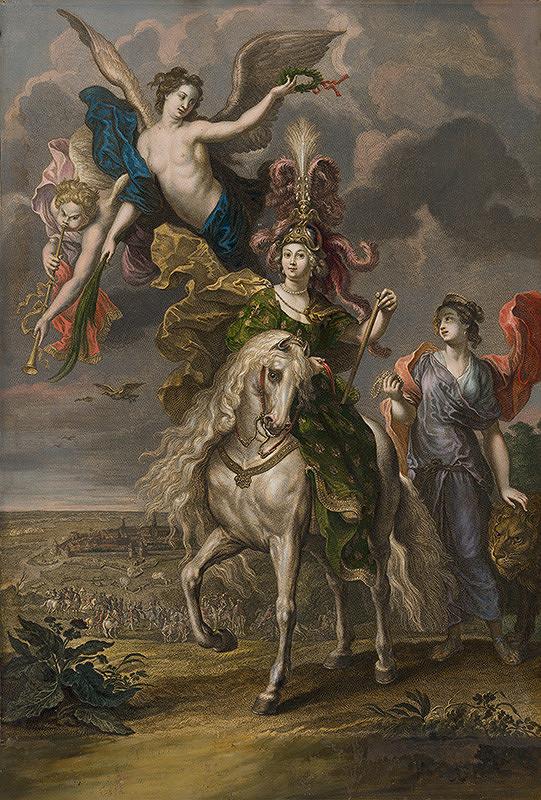 Charles Simonneau, Peter Paul Rubens, Jean Marc Nattier – Víťazstvo v Jülich (Juliers)