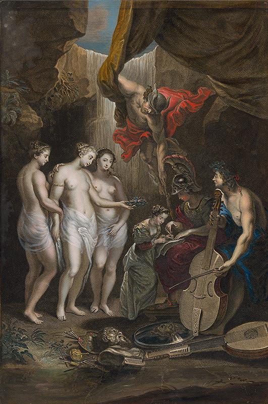 Peter Paul Rubens, Jean Marc Nattier, Alexis Loir – Výchova Márie de Medici