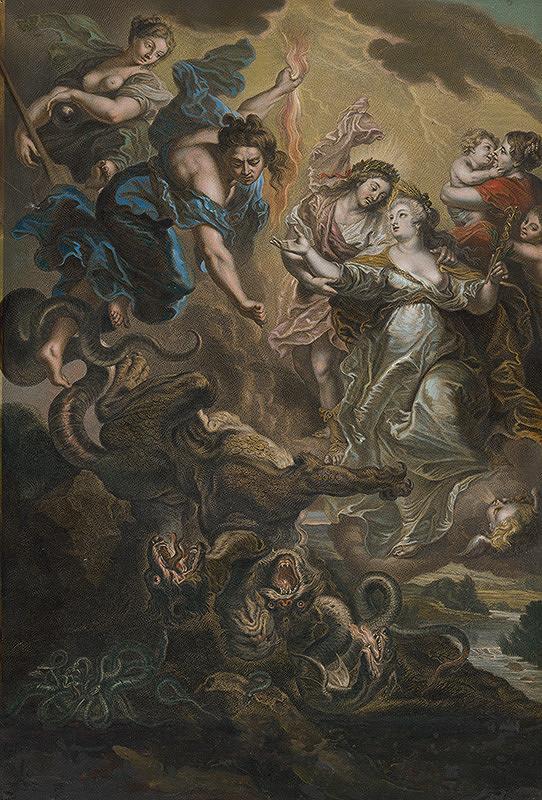 Peter Paul Rubens, Jean Marc Nattier, Gaspar Duchange – Zmierenie Márie de Medici so svojím synom Ľudovítom XIII.