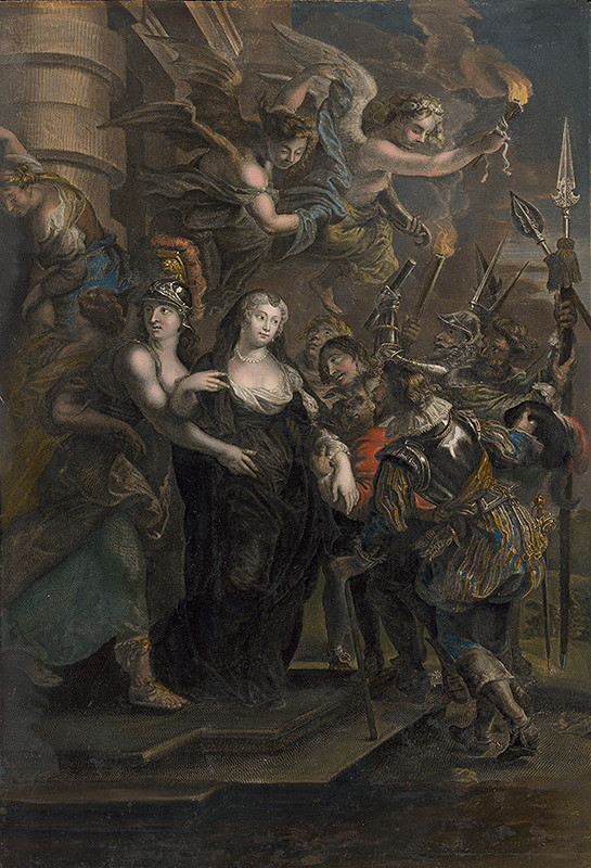 Cornelius Vermeulen, Jean Marc Nattier, Peter Paul Rubens – Útek Márie de Medici zo zámku Blois
