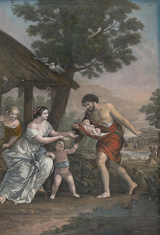 Pietro da Cortona, Robert Strange – Nájdenie Romula a Rema
