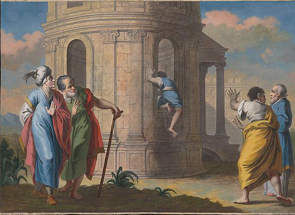 Francesco Moard, Thomas Major, Francesco Maggiotto - Podobenstvo Ježiša o človeku, ktorý nevchádza dverami