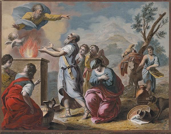 Giovanni Volpato, Francesco Bartolozzi, Jacopo Amigoni - Mojžišova obeta