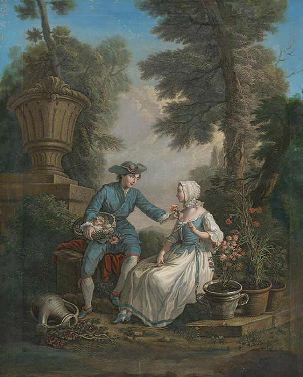 Etienne Jeaurat, Nicolas Dufour – Mladý záhradník (Le garçon jardinier)