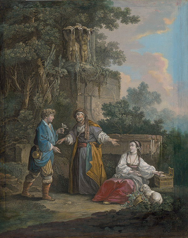 Jean-Baptiste Le Prince, René Gaillard – Zlatá klietka