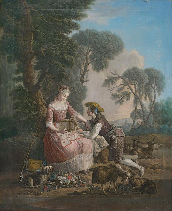 Pierre-Charles-Nicolas Dufour, Etienne Jeaurat – Vytrvalý pastier