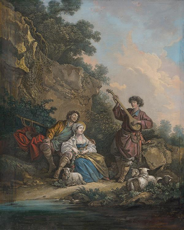 René Gaillard, Jean-Baptiste Le Prince – Vidiecky oddych
