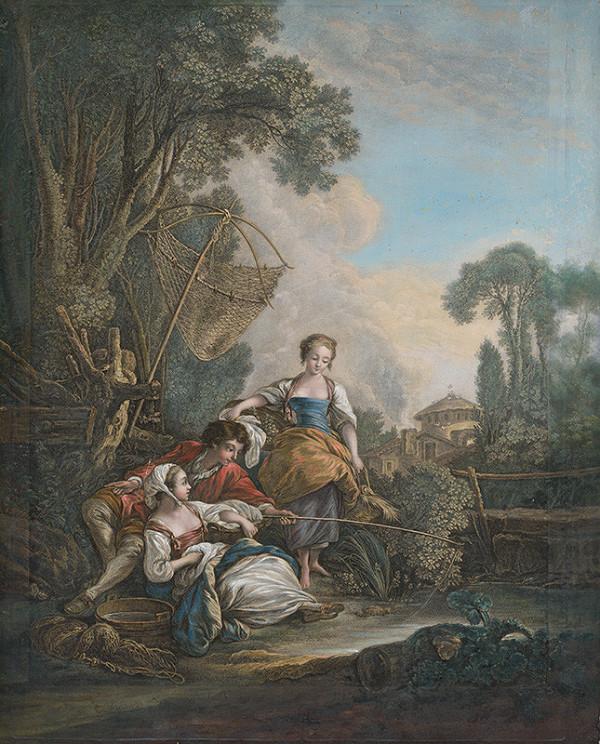 François Boucher, Jacques Firmin Beauvarlet – Rybačka