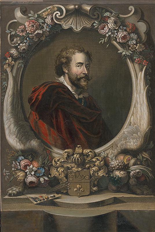 Jean Audran, Jean Marc Nattier, Anthony van Dyck – Portrét Petra Paula Rubensa