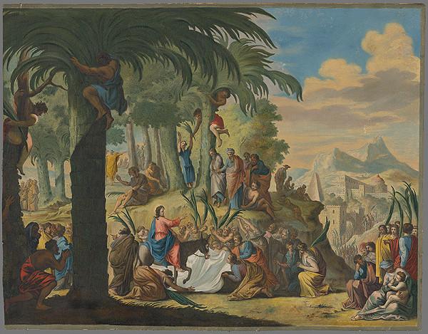 Stredoeurópsky maliar zo 17. storočia - Príchod Krista do Jeruzalema