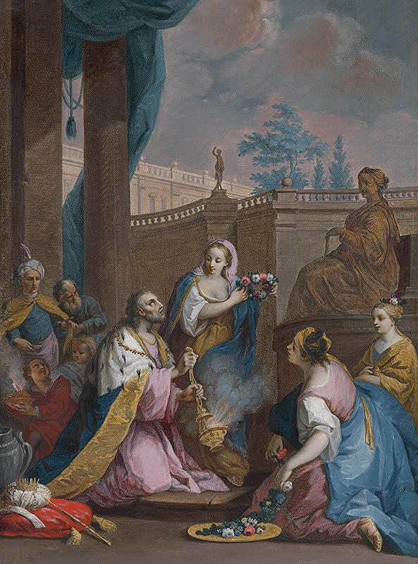 Jacopo Amigoni, Francesco Bartolozzi, Joseph Wagner – Šalamúnova modloslužba