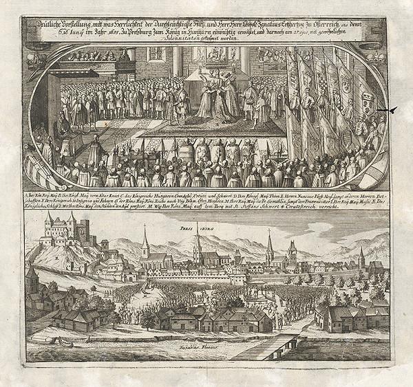 Romeyn de Hooghe, Philip Bouttats – Korunovácia Leopolda I.