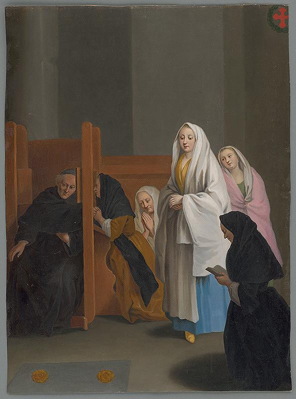 Pietro Longhi - Spoveď