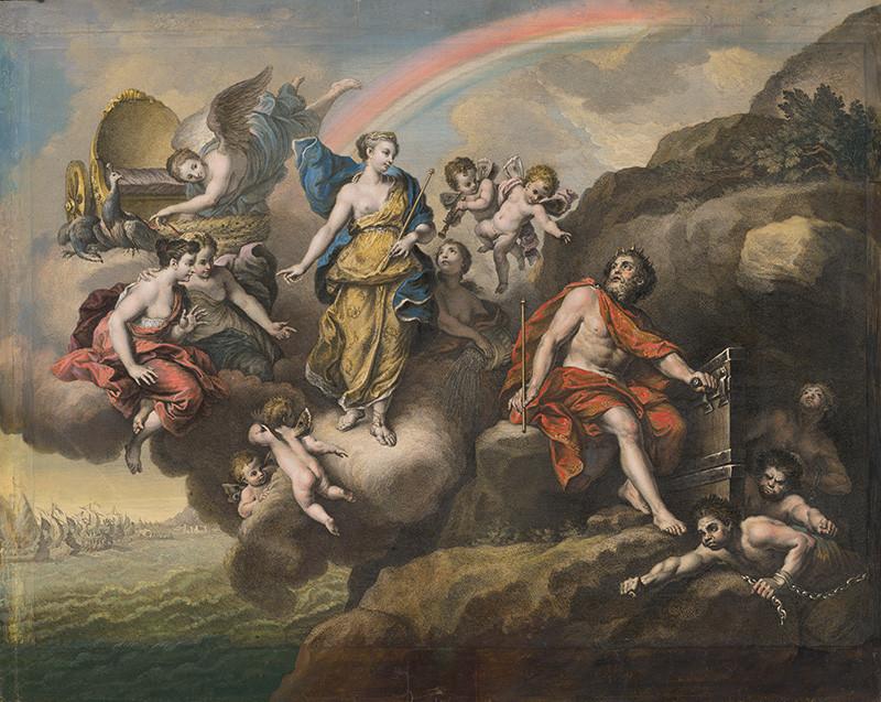 Louis Boullogne ml. – Vzduch, 1721, Galéria mesta Bratislavy