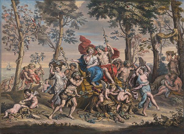 Jean Baptist de Poilly, Paul Mignard – Jeseň. Triumf Bakcha a Ariadny