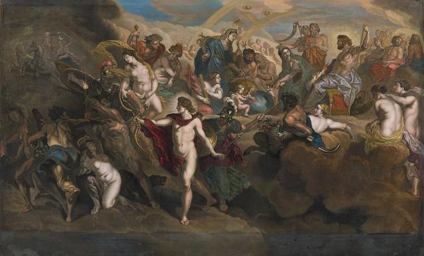 Peter Paul Rubens, Jean Baptiste Nattier, Bernard Picart – Alegória panovania Márie de Medici