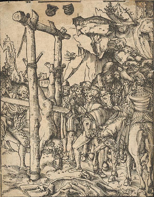 Lukas Cranach st. - Martýrium apoštola Šimona