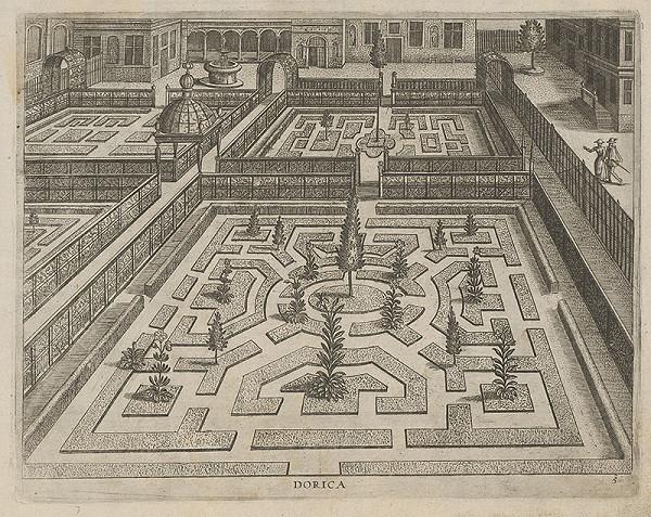 Hans Vredemann de Vries, Philip Galle - Dorica