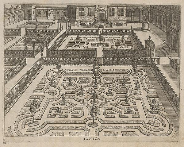 Hans Vredemann de Vries, Philip Galle - Ionica
