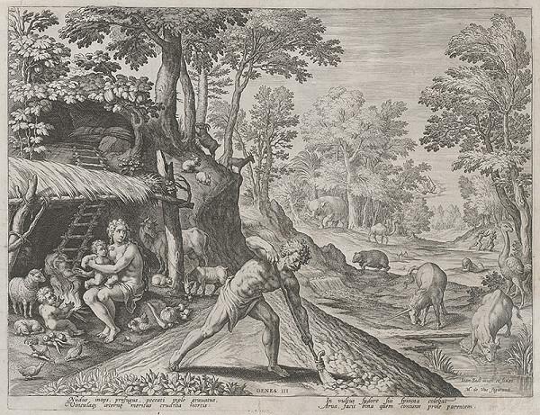 Maarten de Vos st., Jan Sadeler I. – Po páde prvých ľudí (4)