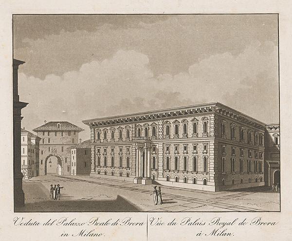 Taliansky maliar z prelomu 18. - 19. storočia – Kráľovský palác de Brera v Miláne