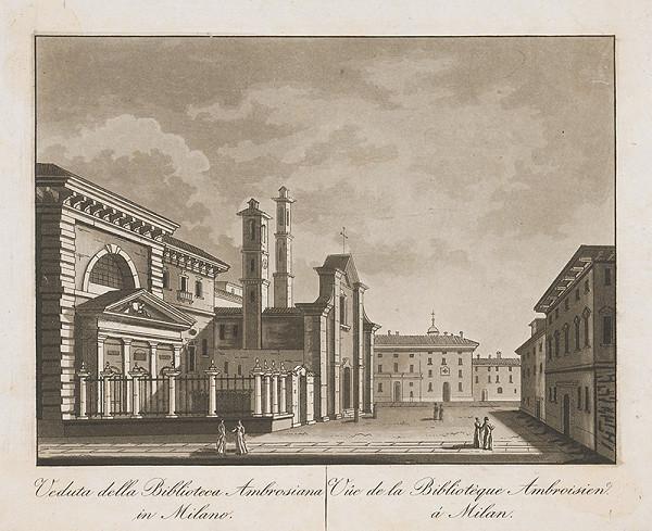 Taliansky maliar z prelomu 18. - 19. storočia – Knižnica Ambroisien v Miláne