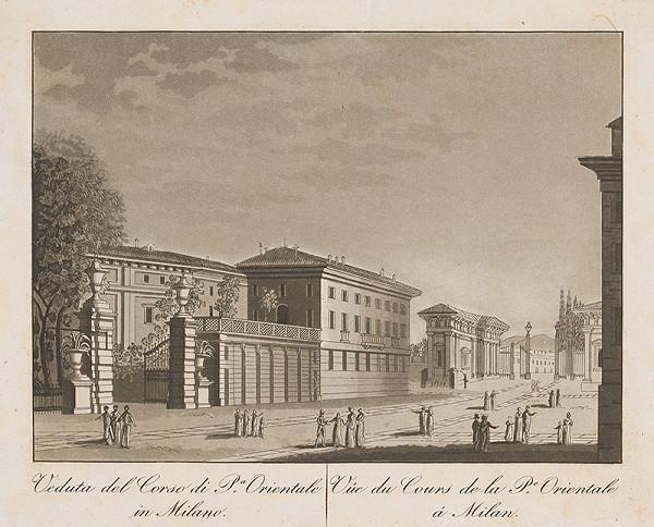 Taliansky maliar z prelomu 18. - 19. storočia – Corso di pa Orientale v Miláne