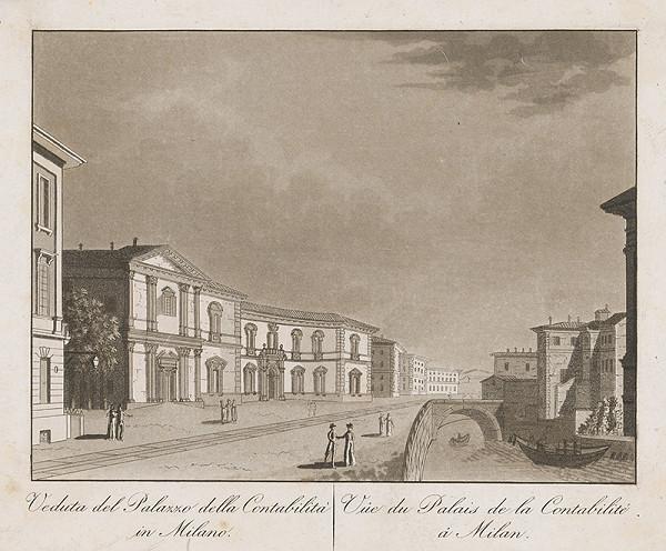 Taliansky maliar z prelomu 18. - 19. storočia – Palác Constabilité v Miláne