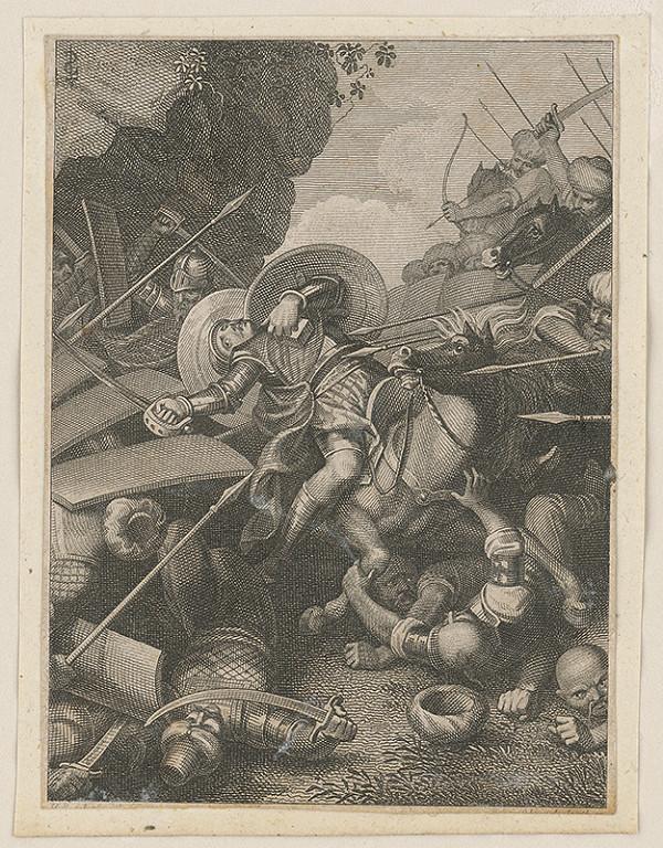Stredoeurópsky maliar z prelomu 18. - 19. storočia – Prepadnutie