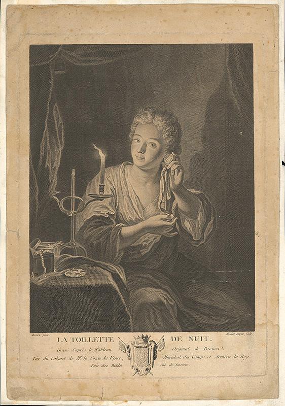 Stredoeurópsky maliar z 18. storočia - Nočná toaleta