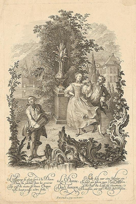Stredoeurópsky maliar z 18. storočia – Tanec