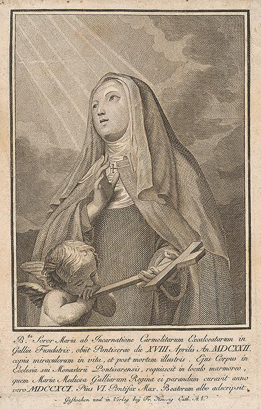 Stredoeurópsky maliar z 18. storočia - Mníška