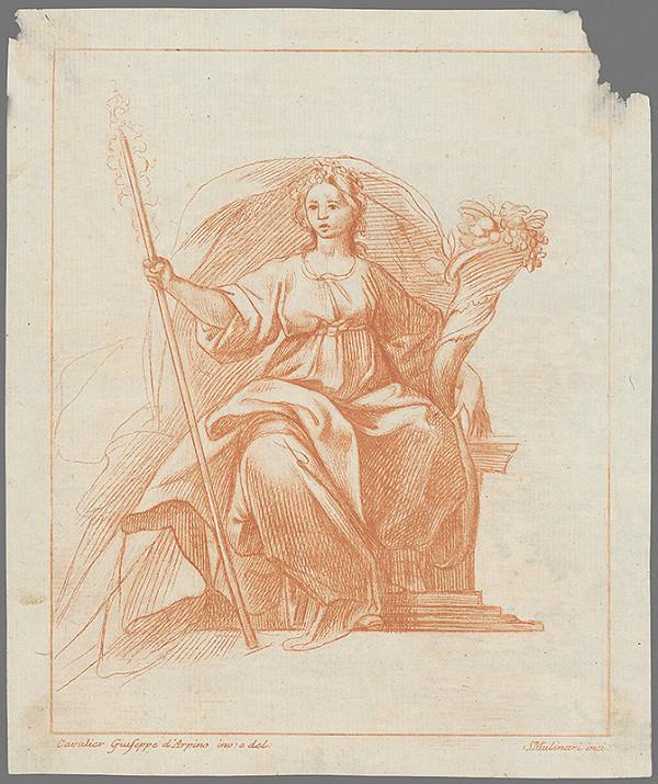 Stredoeurópsky maliar z 18. storočia – Alegorická postava ženy
