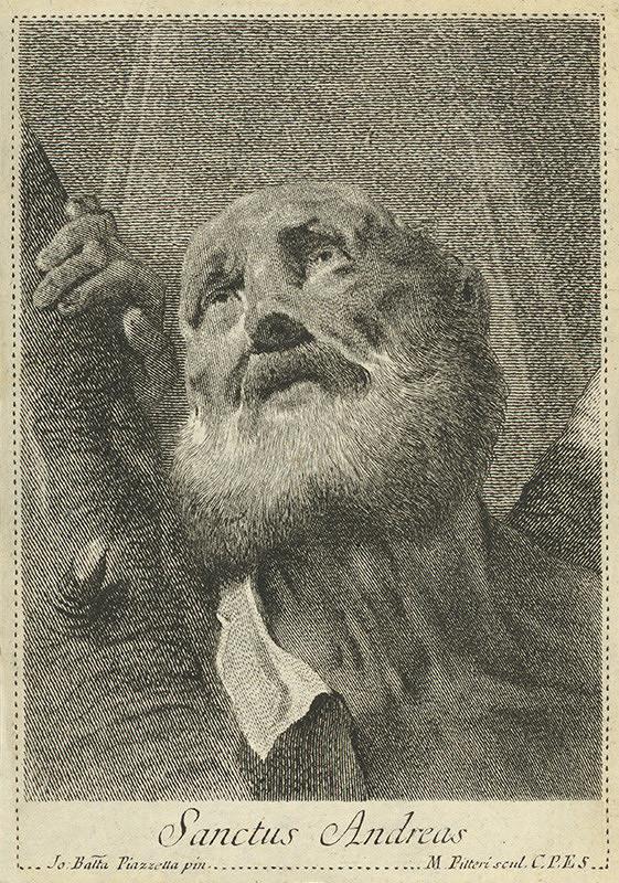 Marco Alvise Pitteri, Giovanni Battista Piazzetta – Sv. Andrej