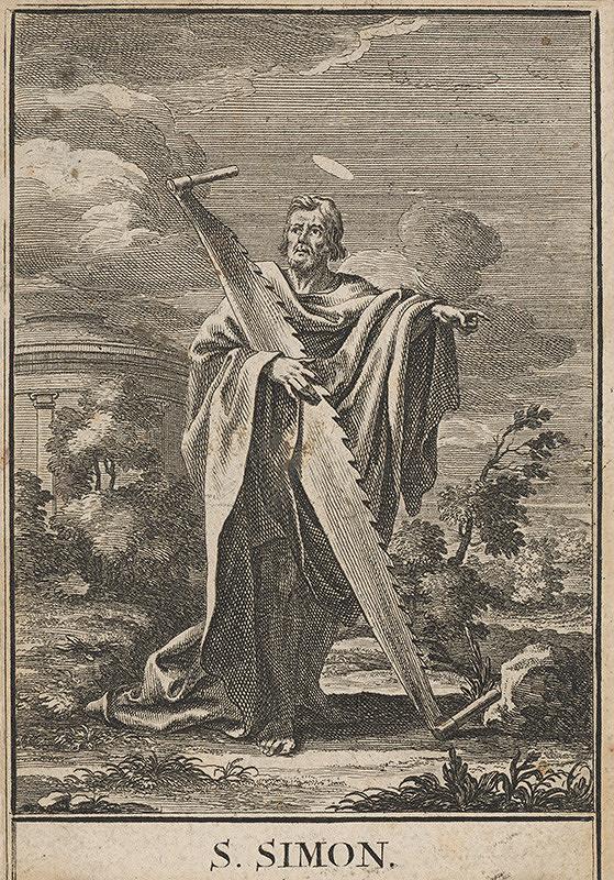 Stredoeurópsky maliar z 18. storočia - Sv. Šimon