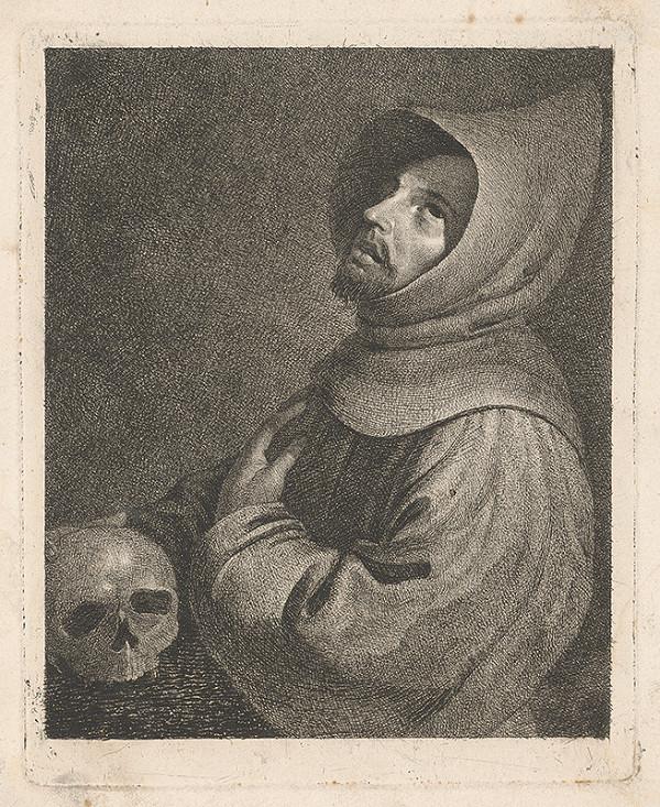 Stredoeurópsky maliar z 18. storočia – Mních