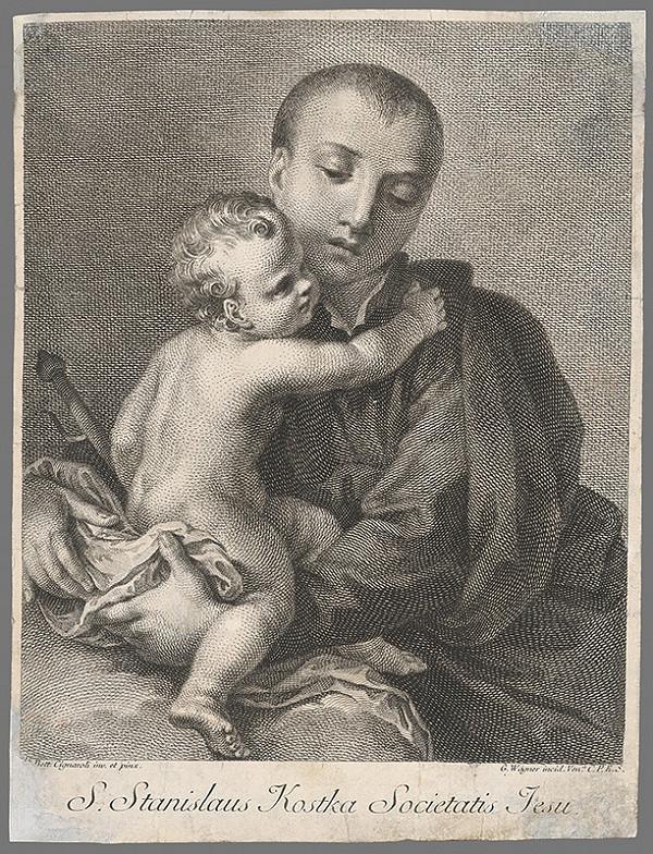 Stredoeurópsky maliar z 18. storočia - Svätec