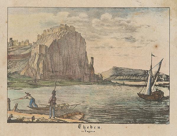 Slovenský maliar z 1. polovice 19. storočia - Devín