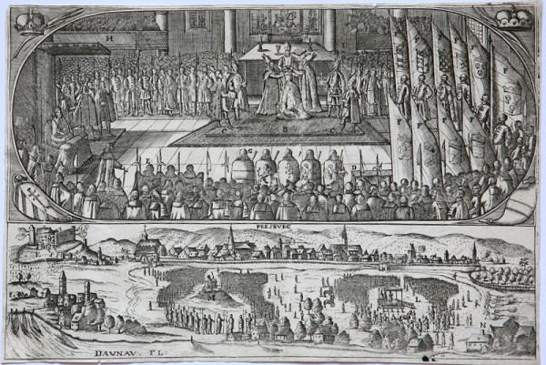 Johann Christoph Wagner - Korunovácia Leopolda I. v Bratislave