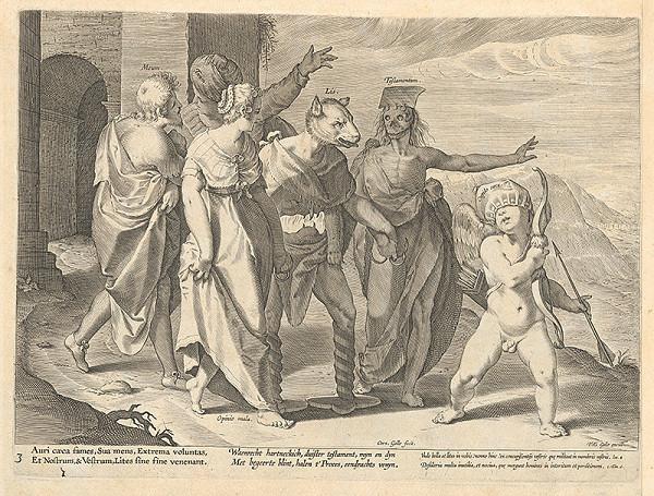 Philip Galle, Cornelis Galle II. - Alegória súdnictva III.