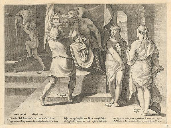 Philip Galle, Cornelis Galle II. - Alegória súdnictva V.
