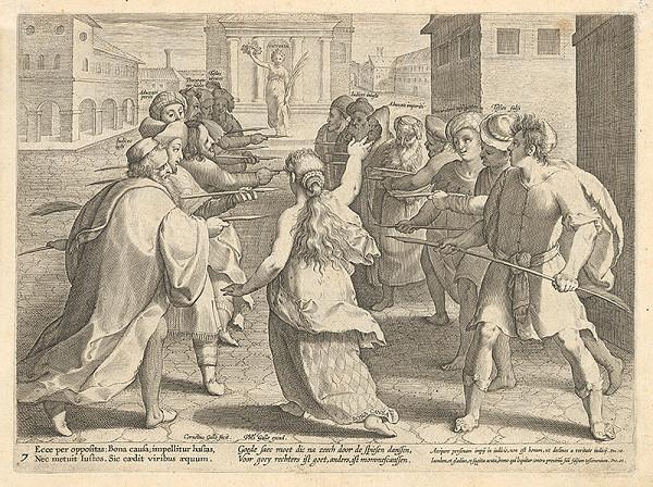 Philip Galle, Cornelis Galle II. - Alegória súdnictva VII.