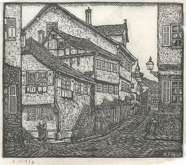 Karol Frech - Stará ulička